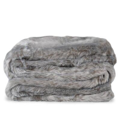 Pistachio Fur Throw