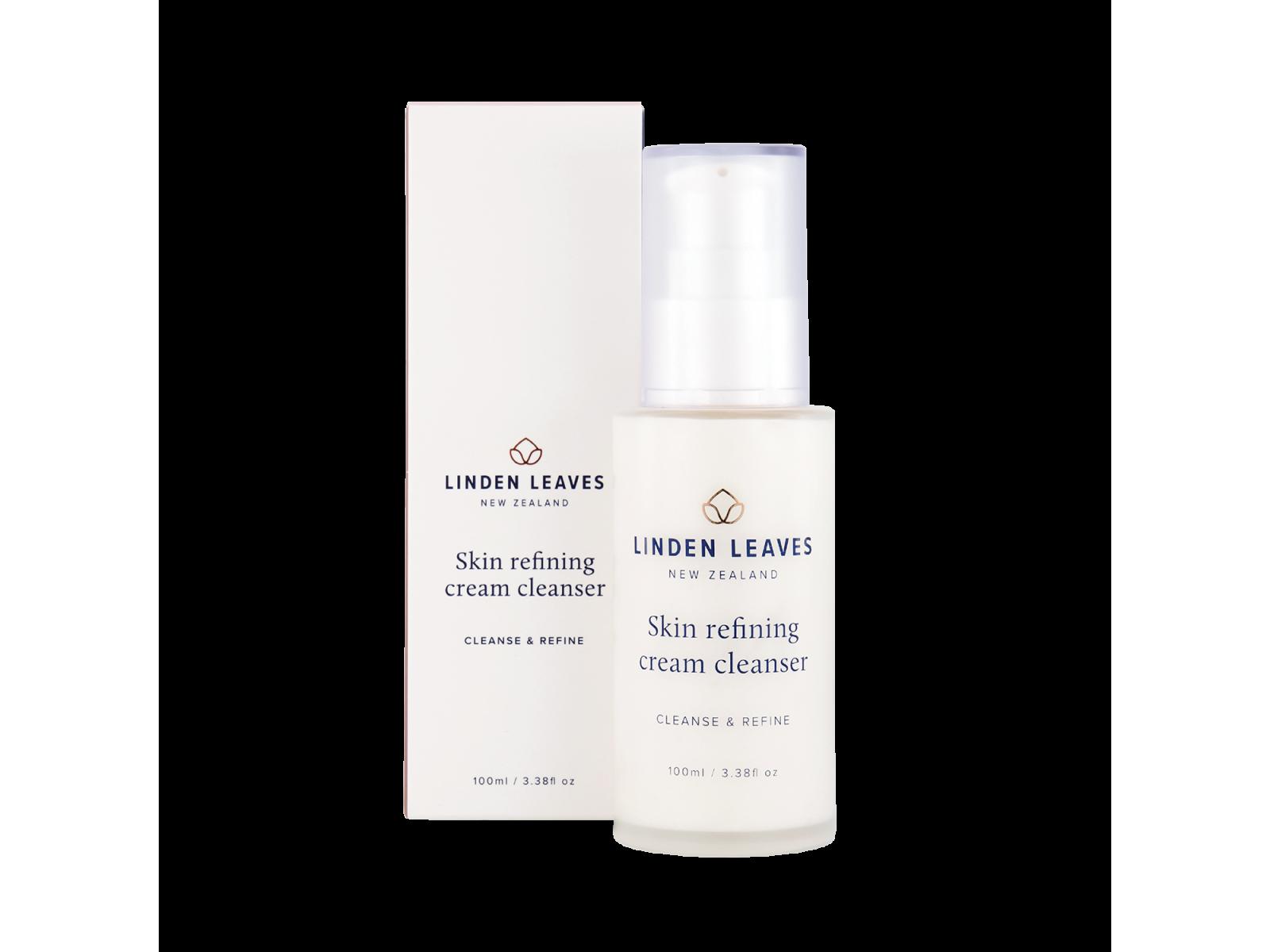 Skin refining cream cleanser