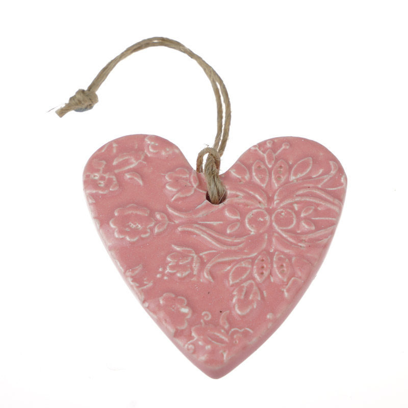 Ceramic Heart Medium